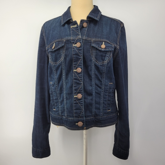 American Eagle Outfitters Classic Denim Jacket XL